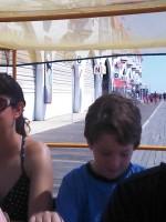 4 seat bike ride on Ocean City Boardwalk