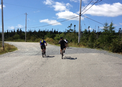 Mountain Biking Adventure Difficult Trails Nova Scotia