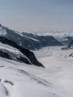 The Jungfraujoch in Switzerland