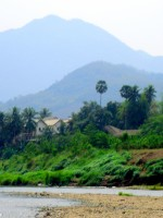 Peaceful village life
