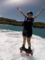 Flyboarding in St. Thomas