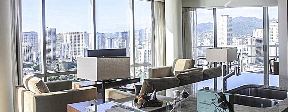 2 Bedroom Suite on the 24th Floor of Trump Waikiki
