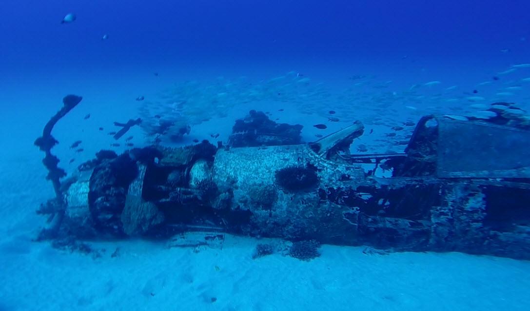 Corsair Wreck