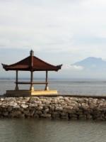Gazebo at bali indonesia