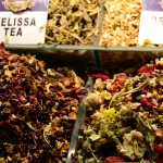 Colurful Tea at the Spice Bazar in Istanbul