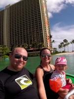 Aqua Bike at Hilton Hawaiian Village Lagoon